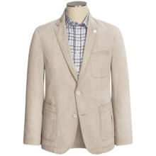 Riviera Red Genesis Washed Twill Sport Coat (For Men) in Cream - Closeouts