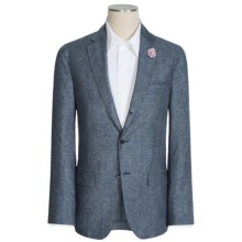 Riviera Red Nazareth Donegal Sport Coat - Silk-Linen (For Men) in Blue - Closeouts