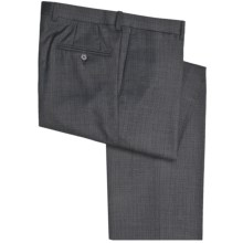 Riviera Spencer Dress Pants (For Men) in Blue/Grey Check - Closeouts