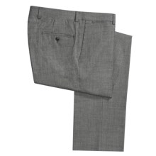 Riviera Spencer Houndstooth Dress Pants - Wool (For Men) in Taupe/Black - Closeouts
