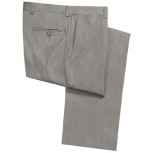 Riviera Spencer Wool Twill Dress Pants - Dual Color (For Men) in Grey/Beige - Closeouts
