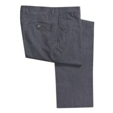 Riviera Sting Dress Pants - Tonal Mini Stripe (For Men) in Heather Blue - Closeouts