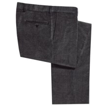 Riviera Sting Pants - Stretch Corduroy (For Men) in Charcoal - Closeouts