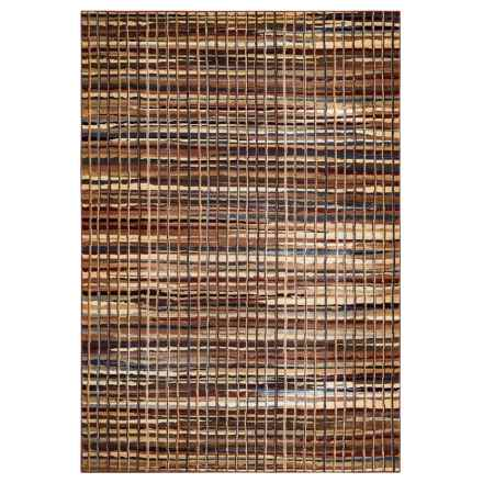 "Rizzy Home Bennington Collection Area Rug - 5'3""x7'7"" in Multi Pattern - Closeouts"