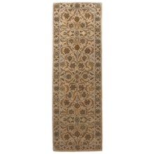 "Rizzy Home Bentley Floor Runner - 2'6""x8' in Beige/Beige - Overstock"