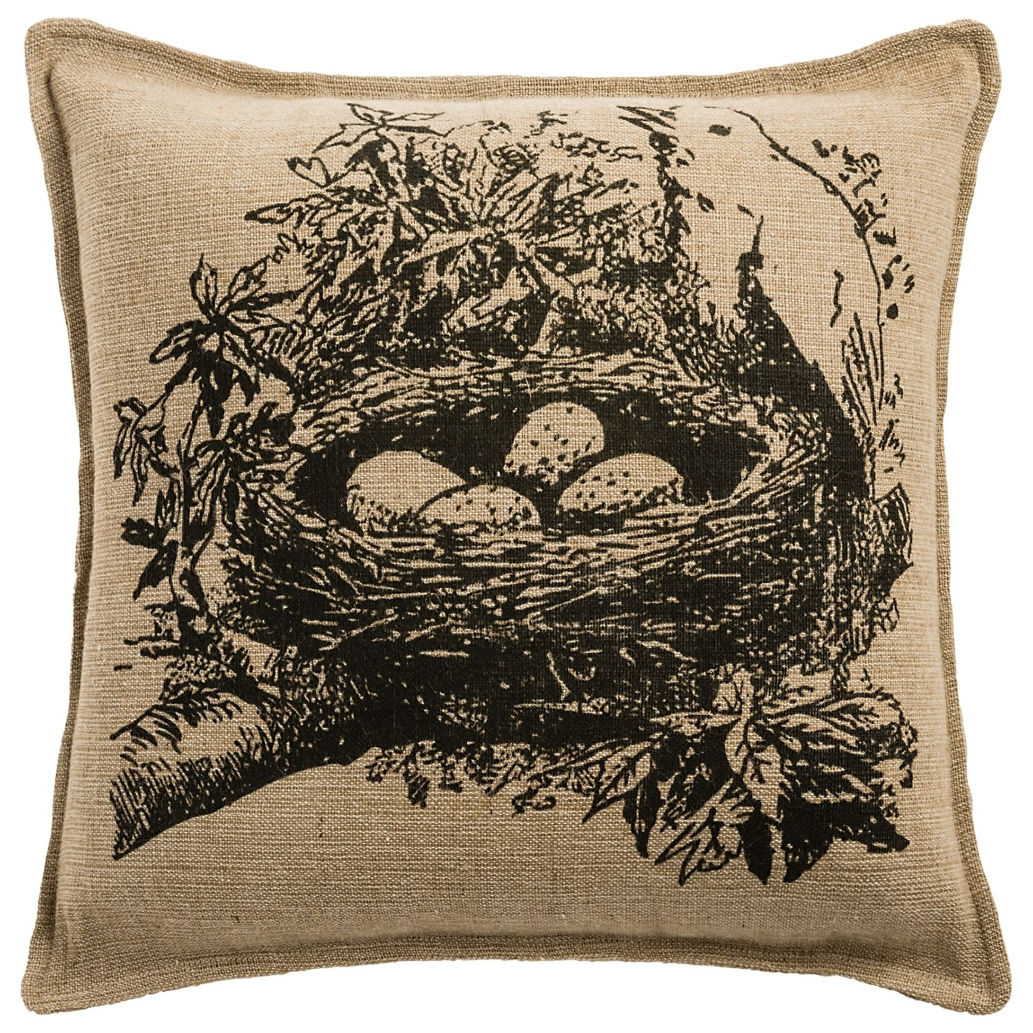 Rizzy Home Bird Collection Decor Pillow 18x18 Save 57