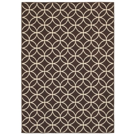 "Rizzy Home Boardwalk Indoor/Outdoor Area Rug - 4'11""x7'2"""