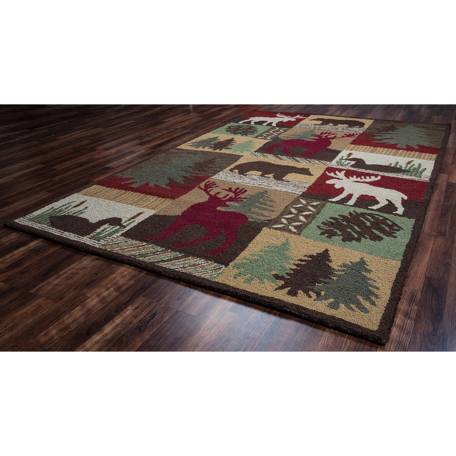 Rizzy Home Country Area Rug 8x10 New Zealand Wool