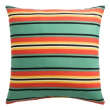 "Rizzy Home Indoor-Outdoor Striped Decor Pillow - 22x22"" in Multi - Overstock"
