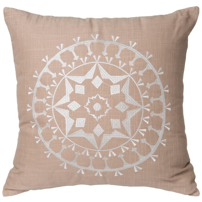 Throw Pillows Homesense : Rizzy Home Medallion Stitched Throw Pillow - 18? - Save 32%