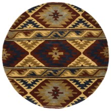 Rizzy Home Native Hand-Tufted Wool Area Rug - 6' Round in Tempe - Overstock