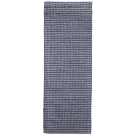 "Rizzy Home Platoon Floor Runner -2'6""x8', Hand-Tufted Wool in Blue Grey/Tan - Closeouts"