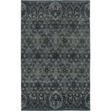 Rizzy Home Volare Area Rug - 5x8', Hand-Tufted Wool in Blue - Closeouts