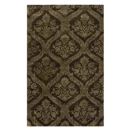 Rizzy Home Volare Area Rug - 5x8', Hand-Tufted Wool in Brown - Closeouts