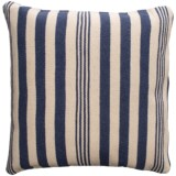 """Rizzy Home Wool Canvas Striped Decor Pillow - 24x24"""""""