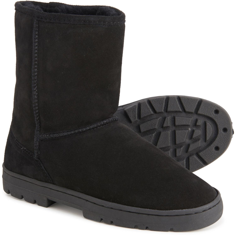 RJ FUZZIES Sheepskin Boots (For Men