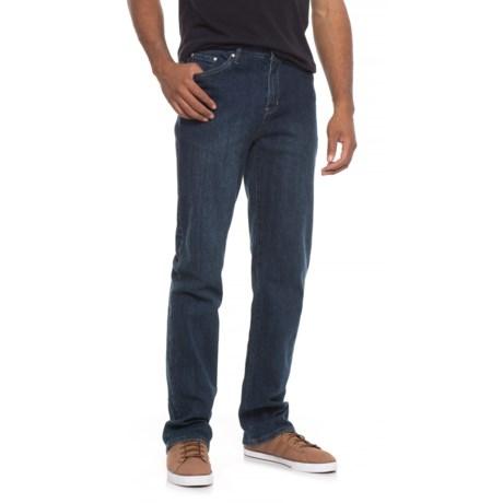 Road Apparel Abbey Jeans - 5-Pocket (For Men) in Dark Wask