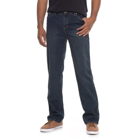 Road Apparel Abbey Jeans (For Men) in Dark Wask