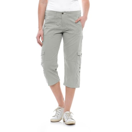 Road Trip Roll-Up Capris (For Women)