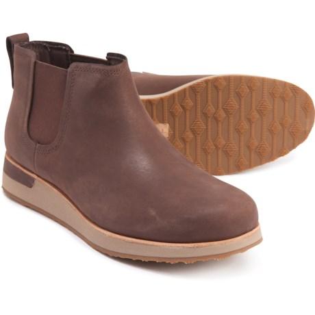 Roam Chelsea Boots - Leather (For Women) - BRACKEN (9 )