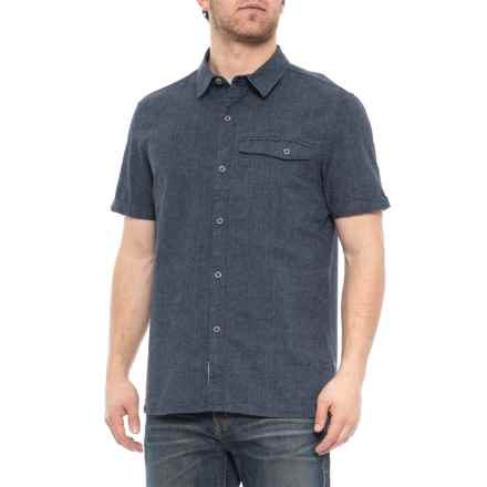 Roamers & Seekers Navy Demand Shirt (For Men) in Navy - Closeouts