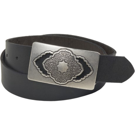 Robert Graham Awondo Belt - Leather (For Men) in Black
