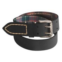 Robert Graham Donovan Belt - Leather (For Men) in Black - Closeouts