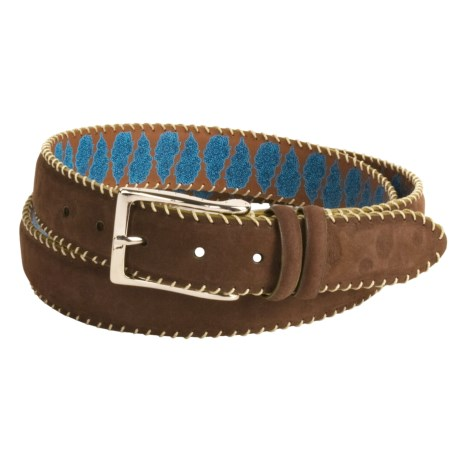 Robert Graham Hoople Belt - Suede (For Men) in Brown