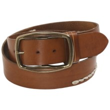 Robert Graham Lumen Belt - Leather (For Men) in Brown - Closeouts