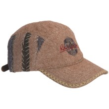 Robert Graham Platt Baseball Cap - Wool (For Men) in Tan - Closeouts