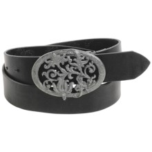 Robert Graham Twilight Belt - Leather (For Men) in Black - Closeouts