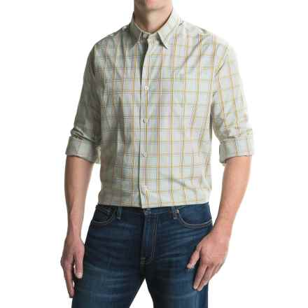 Robert Talbott Anderson Hidden-Button Sport Shirt - Cotton, Long Sleeve (For Men) in Leaf - Closeouts