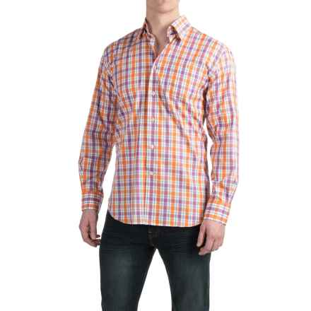 Robert Talbott Anderson II Sport Shirt - Classic Fit, Cotton, Long Sleeve (For Men) in Orange/Blue/Pink/White - Closeouts