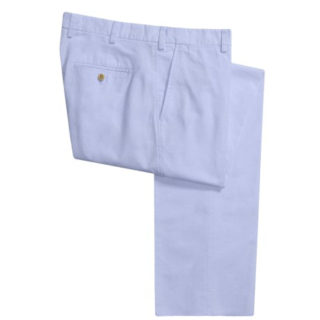 Robert Talbott Chambray Montecito Pants (For Men) in Chambray