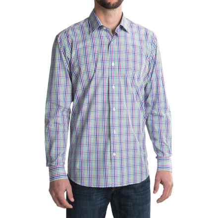 Robert Talbott Crespi III Sport Shirt - Trim Fit, Long Sleeve (For Men) in Hibiscus - Closeouts