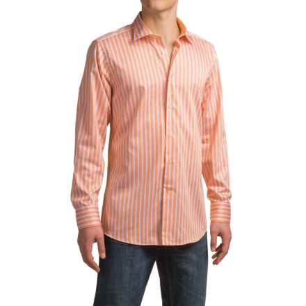 Robert Talbott Crespi IV Check Sport Shirt - Cotton, Long Sleeve (For Men) in Melon - Closeouts
