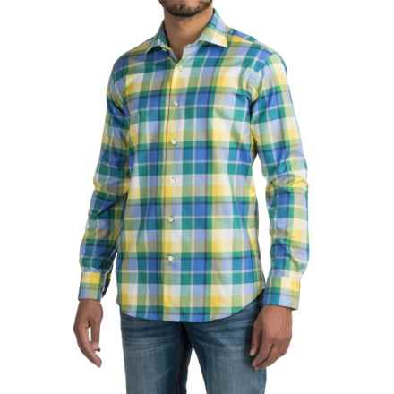 Robert Talbott Crespi IV Trim Fit Sport Shirt - Long Sleeve (For Men) in Nantucket - Closeouts