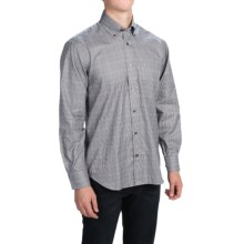Robert Talbott Glen Plaid Sport Shirt - Long Sleeve (For Men) in Blue/Brown/Navy - Closeouts