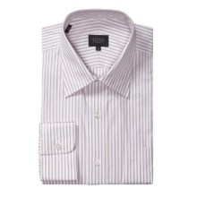 Robert Talbott Latte Multi-Stripe Dress Shirt - Long Sleeve (For Men) in Pink Latte - Closeouts