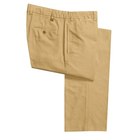 Robert Talbott Monterey Twill Pants (For Men) in Butter