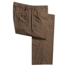 Robert Talbott Monterey Twill Pants (For Men) in Teak - Closeouts