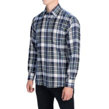 Robert Talbott Multi-Plaid Sport Shirt - Classic Fit, Long Sleeve (For Men) in Grey/Navy/Grn/Wine - Closeouts