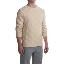 Robert Talbott Textured Cotton Sweater (For Men) in Natural - Closeouts