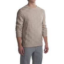 Robert Talbott Textured Cotton Sweater (For Men) in Sand - Closeouts