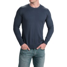 Robert Talbott The Shaffer Sweater - Supima® Cotton (For Men) in Indigo - Closeouts