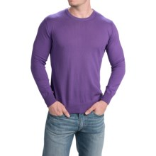Robert Talbott The Shaffer Sweater - Supima® Cotton (For Men) in Lavender - Closeouts