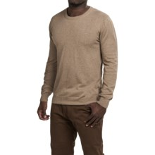 Robert Talbott The Shaffer Sweater - Supima® Cotton (For Men) in Sand - Closeouts