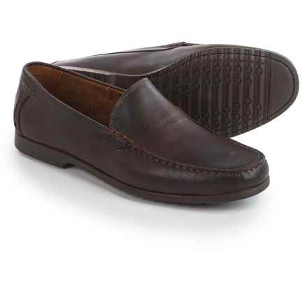 Robert Wayne Alfie Leather Shoes - Slip-Ons (For Men) in Brown - Closeouts