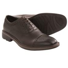 Robert Wayne Alton Oxford Shoes - Leather, Cap Toe (For Men) in Dark Brown - Closeouts