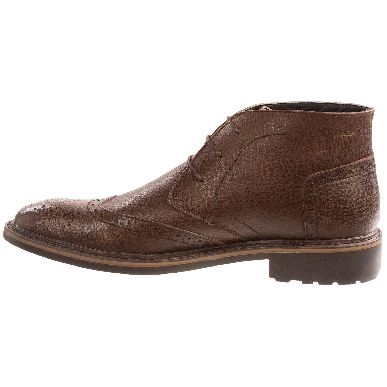 robert wayne arlo wingtip ankle boots for 8828u
